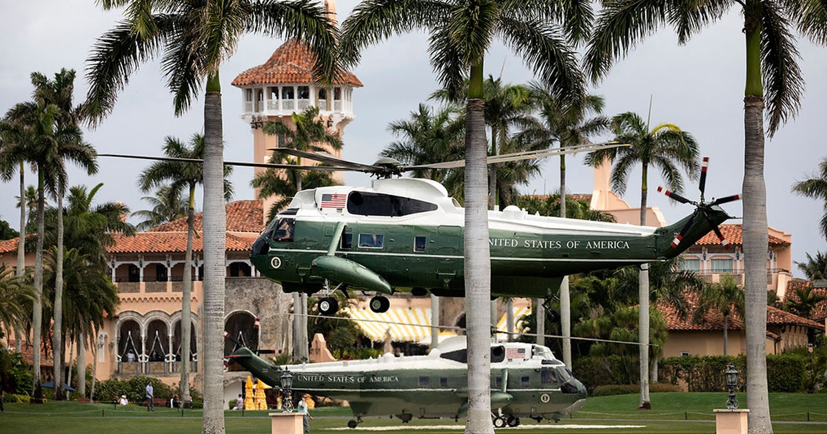 BREAKING: 3 'Teens' Armed With an AK-47 Jump Fence at Trump's Mar-a-Lago Property - National File