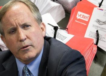 TX AG Ken Paxton & Mail-In Ballots