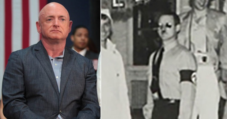 Arizona Democrat Senate Candidate Mark Kelly's Yearbook Allegedly Show Him Dressed Up As Hitler