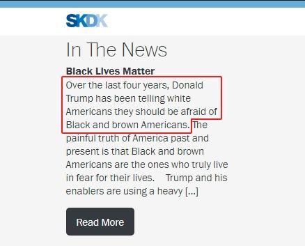 SKDK Website
