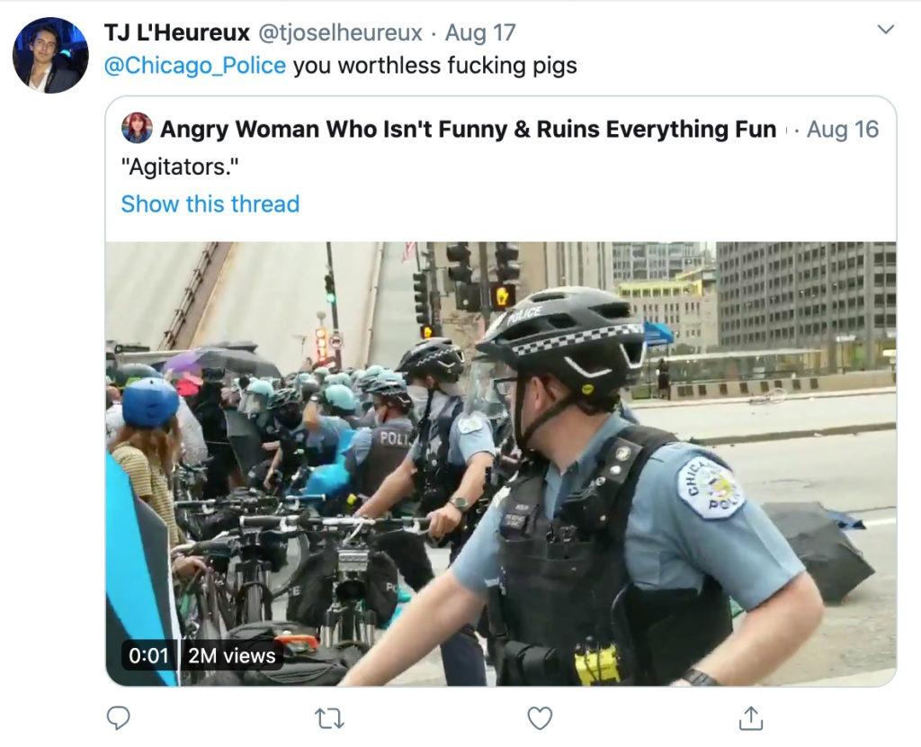 L'Heureux Tweet