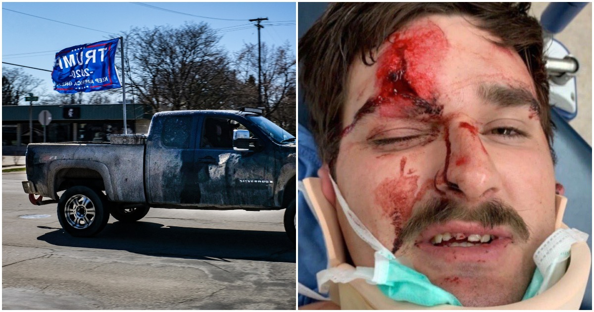 Man Almost Murdered After Flying Trump Flag On His Truck (nationalfile.com)