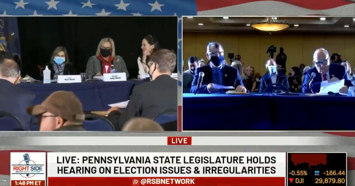 VIDEO: Crowd Gasps At PA Hearing After Learning Of 600K Vote Dump For Biden, Just 3K For Trump - National File
