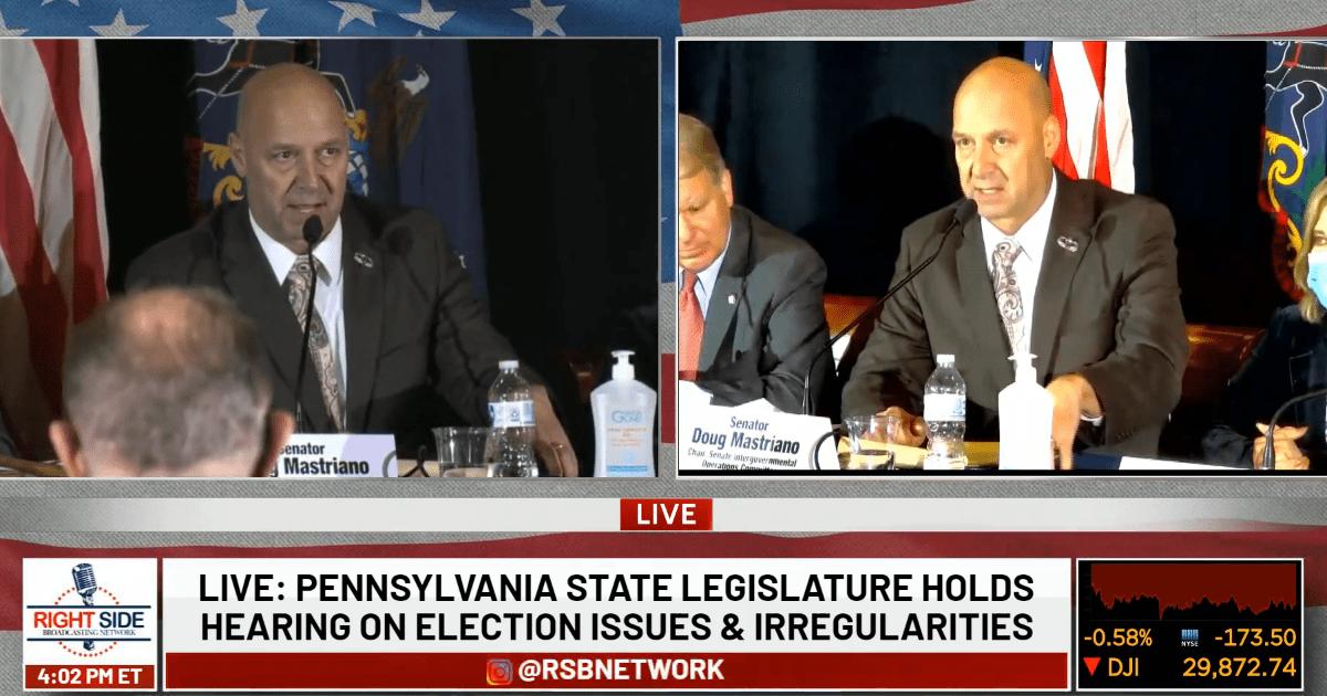 BREAKING: Twitter BANS Pennsylvania senator who organized election integrity hearing (@jack is nervous)