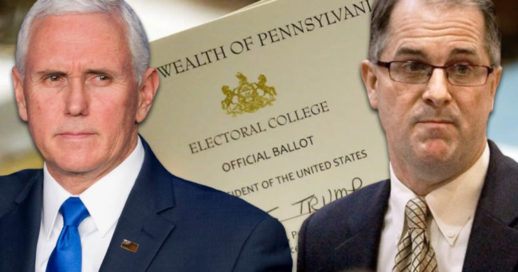 Mike Pence, Phil Kline, Electoral College Ballot