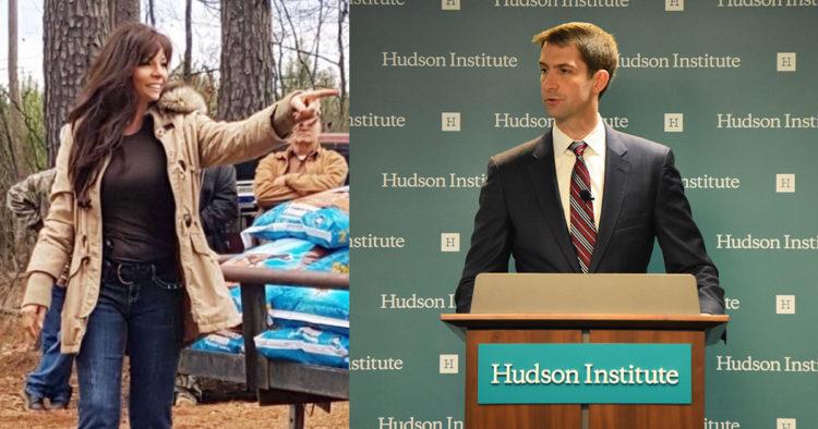 Former Arkansas Governor Candidate Sears 'Bilderberg' Tom Cotton for Siding With Biden on January 6