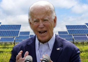 Joe Biden, Solar Panels