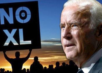 Joe Biden, Keystone XL Pipeline