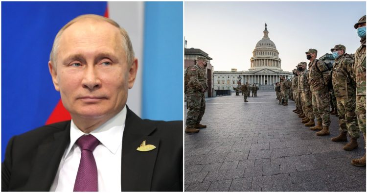 Russia Blasts Biden Regime For 'Persecution' Of Trump Supporters, Political Dissidents