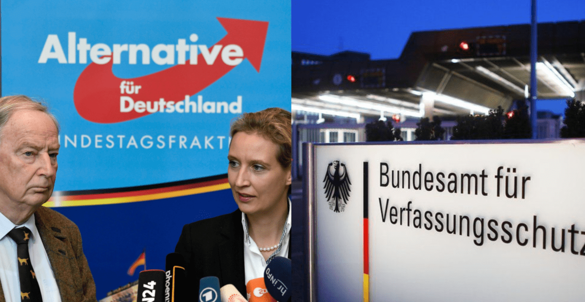 German Intelligence Agency Places Populist Right-Wing Party AfD under State Surveillance - National File