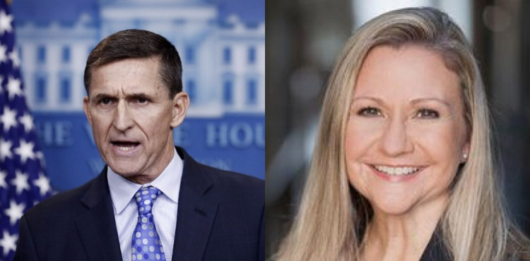 General Flynn Begins Endorsing America First Candidates, Starts With Gun Toting Amanda Chase for Virginia Governor