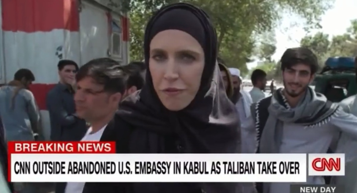 VIDEO: CNN Reporter Says Taliban Terrorists Are 'Friendly' As They Chant 'Death To America