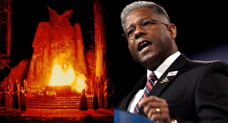 BREAKING: Lt. Col. Allen West EXPOSES 'Progressive Socialist Left,' 'Delusional Republicans' For 'Bowing Down And Worshipping' Moloch