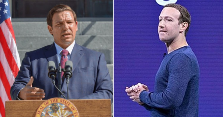BREAKING: DeSantis Orders Florida Secretary Of State To Investigate Facebook For Violating Election Laws