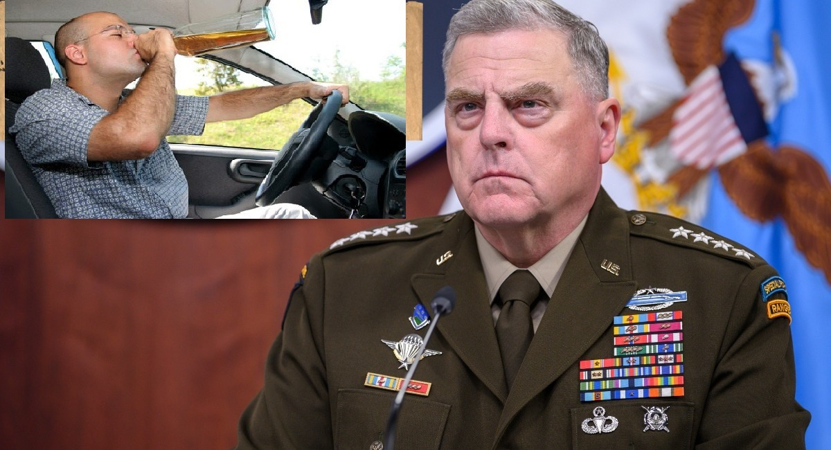 REPORT: General Mark Milley Got Arrested For DUI In 1982 - National File