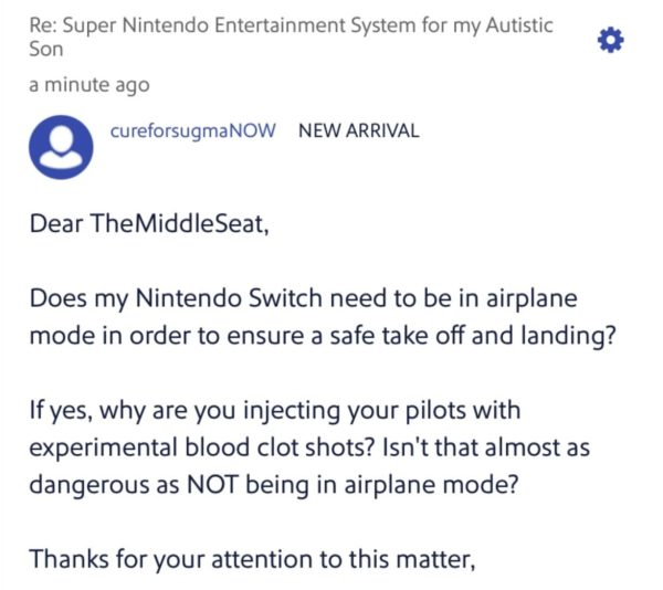 'I Have All 46 Boosters. Please Hire Me Southwest': Airline's Help Website Trolled After Flights Canceled Over Vaccine Mandate Protest 6