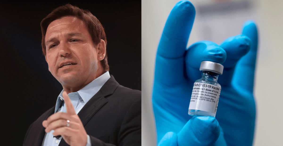 DeSantis's Department of Health Fines 'Lawless' County $3.5 Million for Mandating Vaccine Despite Florida Law - National File